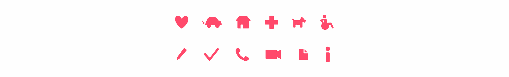 Styleguide icons